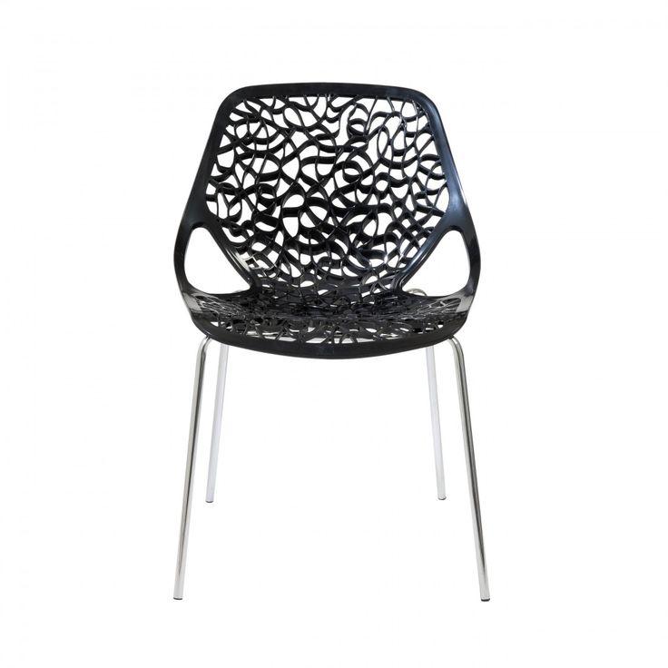 Lovie Side Chair (Set Of 2) - Black