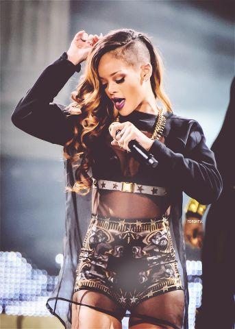 Rihanna. Guilty pleasure. Hey she's better than the Kardashians.