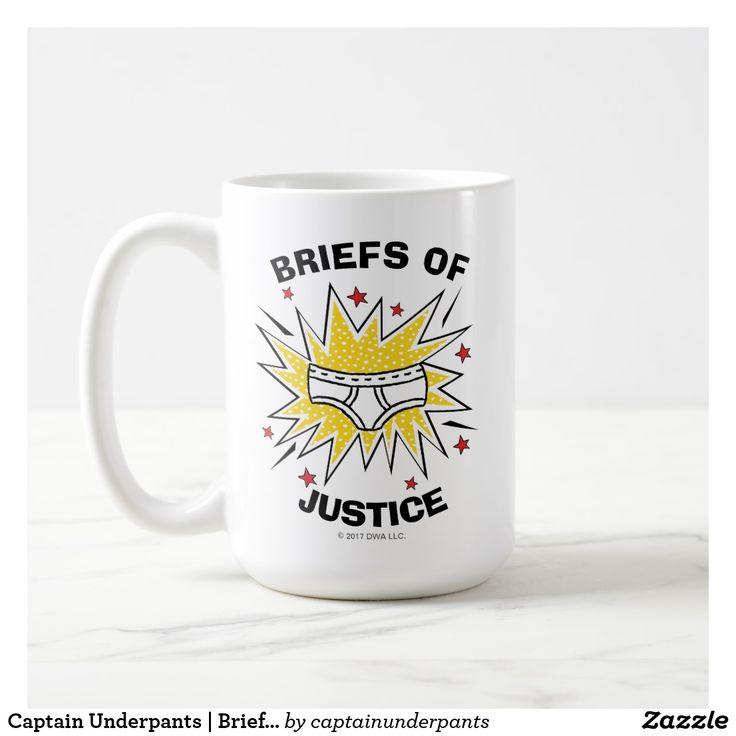 Captain Underpants | Briefs of Justice. Regalos, Gifts. Producto disponible en tienda Zazzle. Tazón, desayuno, té, café. Product available in Zazzle store. Bowl, breakfast, tea, coffee. #taza #mug
