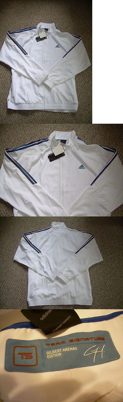 Men 158965: Adidas Agent 0 Gilbert Arenas Signature Track Jacket Rare! Nwt Xl -> BUY IT NOW ONLY: $49.99 on eBay!