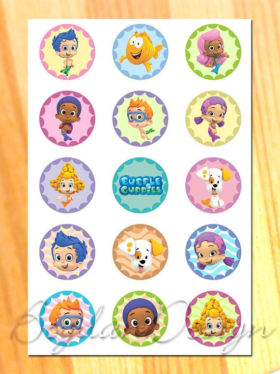 Instant download Bubble Guppies Birthday Party by BogdanDesign