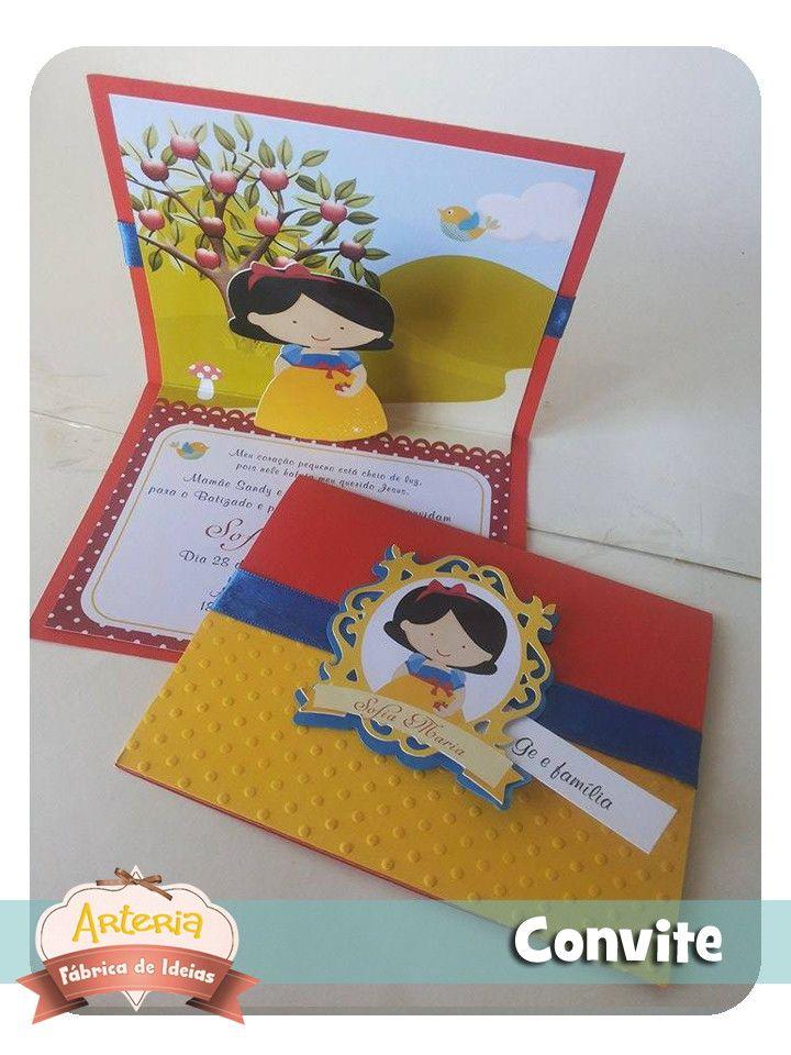 Convites em Papel Color Plus, com apliques e recortes,    Medidas  Fechado: 13 cm x 10,5 cm  Aberto: 13 cm x 21 cm    Faço todos os temas,  mais informações entre em contato.