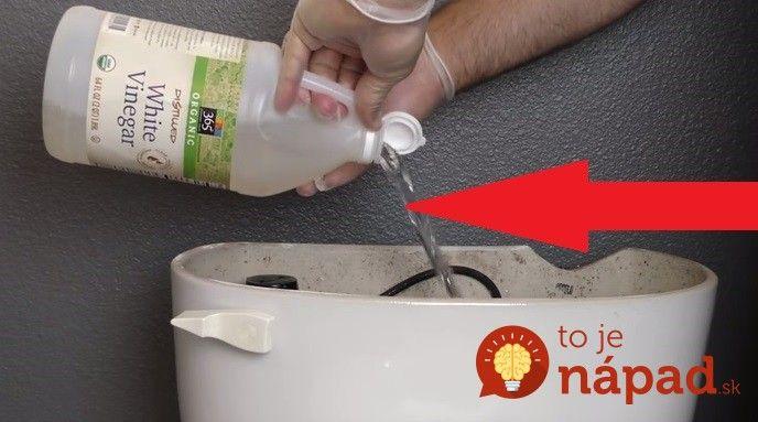 Bez námahy a čistiacich prostriedkov z obchodu. Pozrite sa, ako jednoducho môžete vyčistiť celú vašu kúpeľňu.
