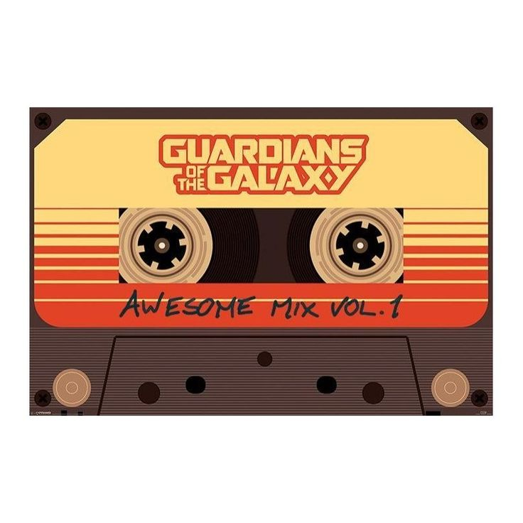 Guardians of the Galaxy (Awesome Mix Vol. 1) Poster