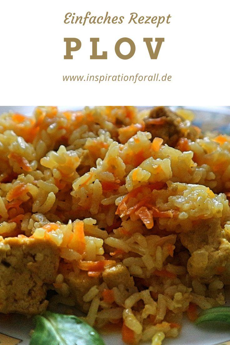 Plov vegetarisch – leckeres Rezept für russisches Reisgericht