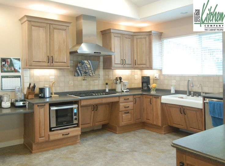 Superior Which Is What This Wheelchair Accessible Kitchen By San Luis Kitchen  Company Of California Accomplishes. Part 8