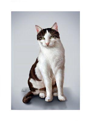 Oana's Artblog: My lovely cats