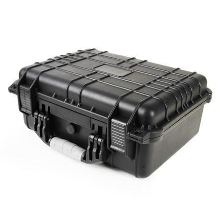 "16"" Black Tactical Weatherproof Equipment Case at MCM Electronics"