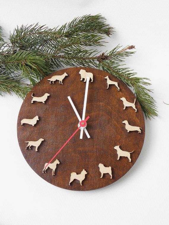 This would be nice for a veterinary clinic... https://www.etsy.com/listing/225351627/wooden-clock-with-dogs-of-different