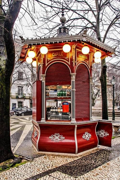"Kiosk #Quiosque do Refresco"", #Lisbon, #Portugal (by Tozé Fonseca)"