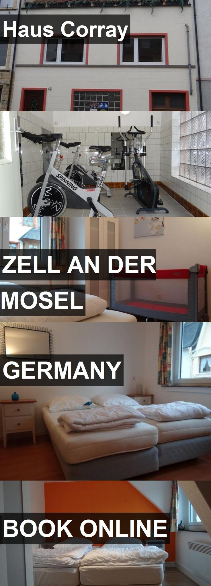 Hotel Haus Corray in Zell an der Mosel, Germany. For more information, photos, reviews and best prices please follow the link. #Germany #ZellanderMosel #hotel #travel #vacation
