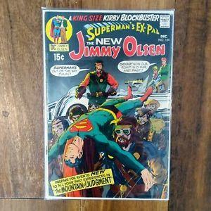 a supermans pal jimmy olsen 134 1st darkseid justice league dc comics 1970
