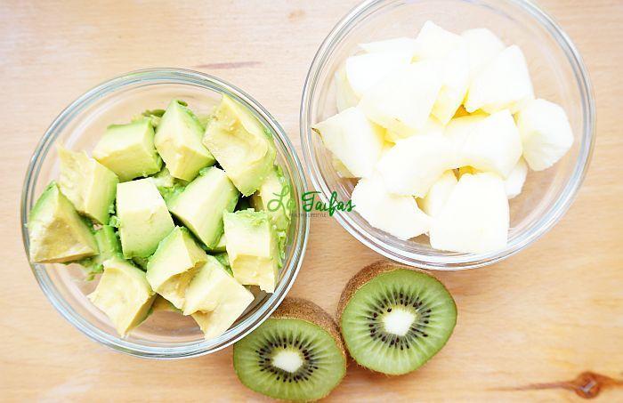 Smoothie de Avocado, Măr și Kiwi