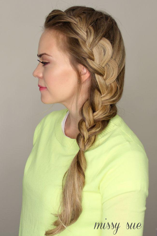 Side French Braid from Missy Sue | Hair Hair Hair ...