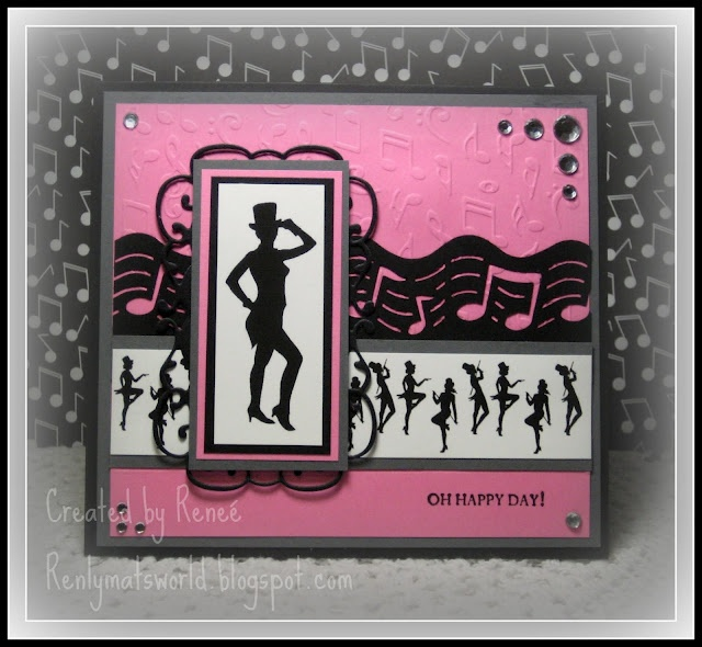 Happy birthday card tap dance style for a dancer or dance teacher