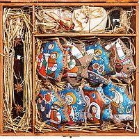 Подарочный набор ёлочных украшений http://vipdar.com.ua/p53989010-podarochnyj-nabor-novomu.html