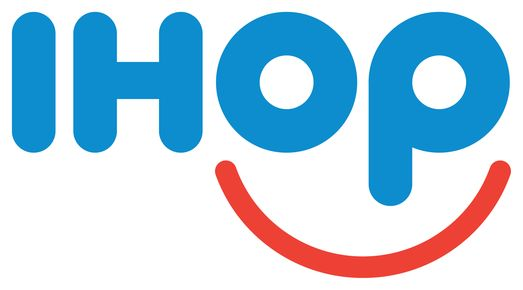 Is it just me or is there something a bit creepy about the new IHOP logo? #logo #design
