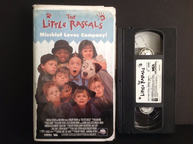 The Little Rascals (VHS, 2000, Clamshell) Brittany Ashton Holmes, Bug Hall