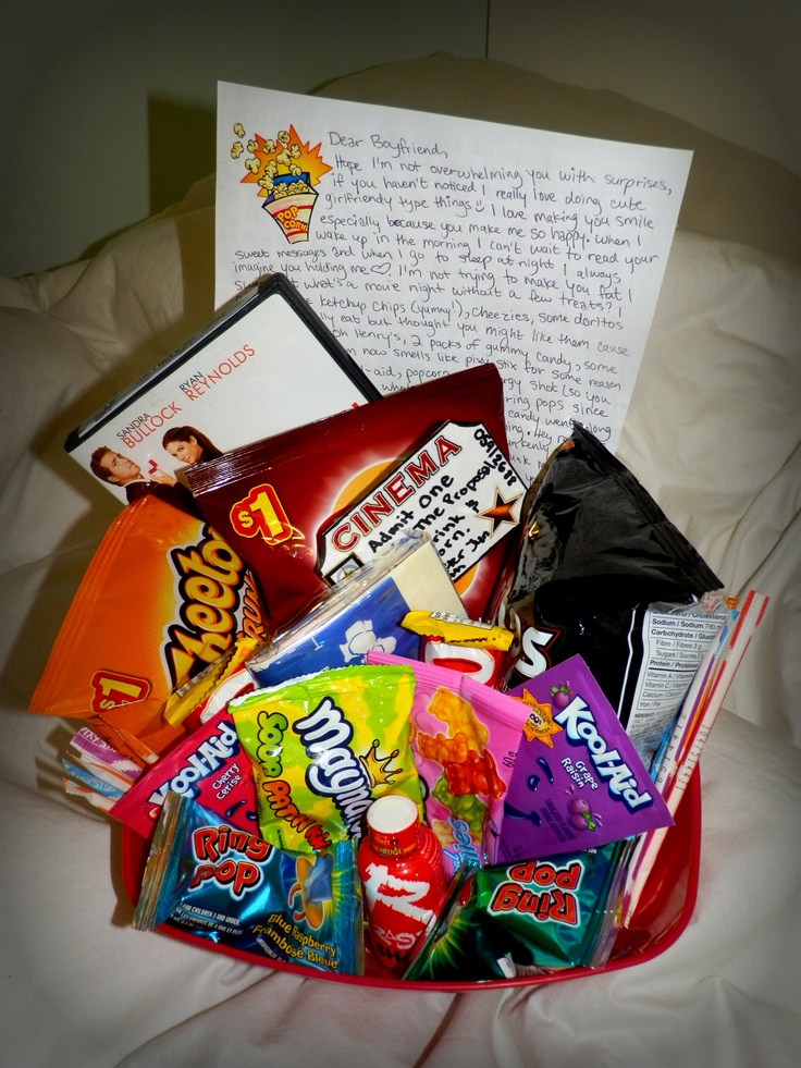 Sweet Ldr Surprises Movie Tickets Note And Box