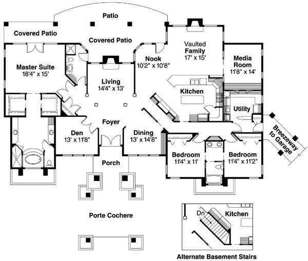 120 best House Plans images on Pinterest Home Condo floor plans