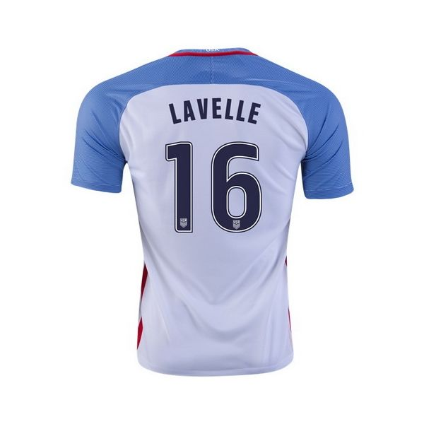 a68c6689c31 2016 17 Rose Lavelle Jersey Home Youth USA National Team