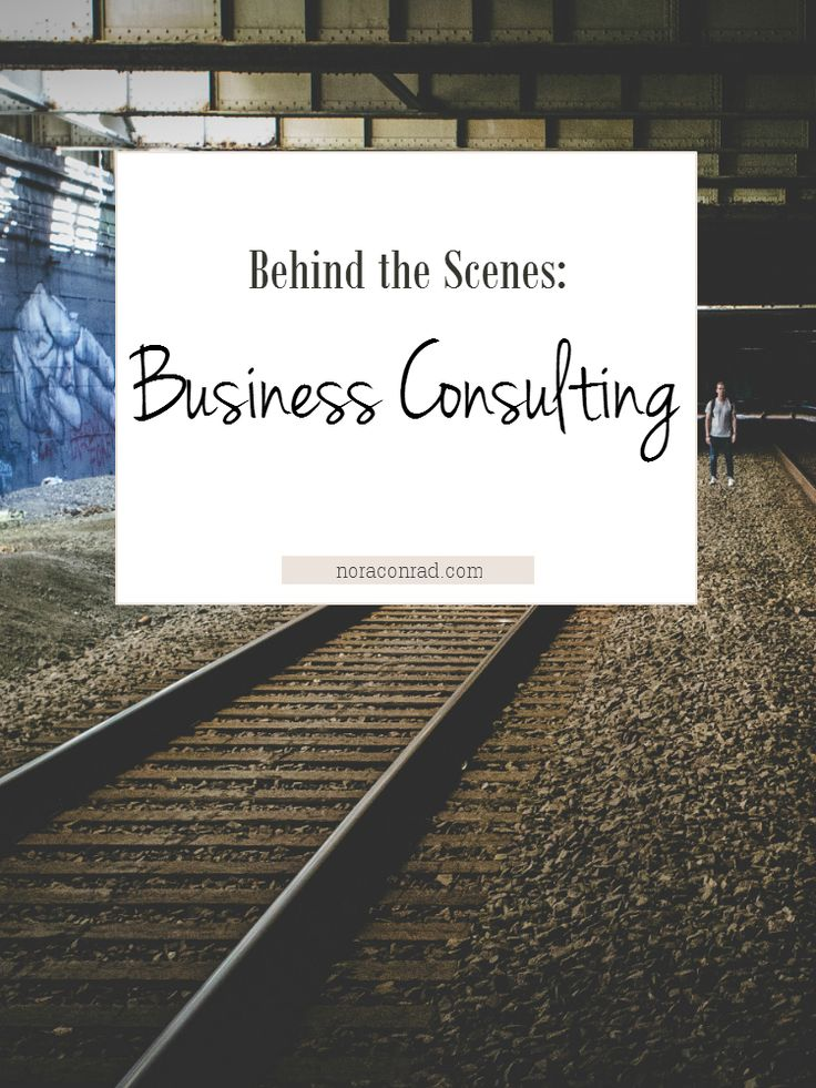 This post is all about the behind the scenes of business consulting. How to find clients, where to meet &talk, contracts, prices and the process. A full look at consulting from the consultant's side.
