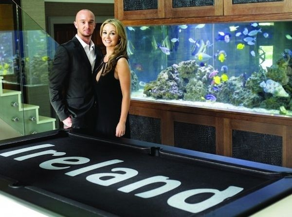 Stephen Ireland | Celebrities With Amazing Fish Tanks