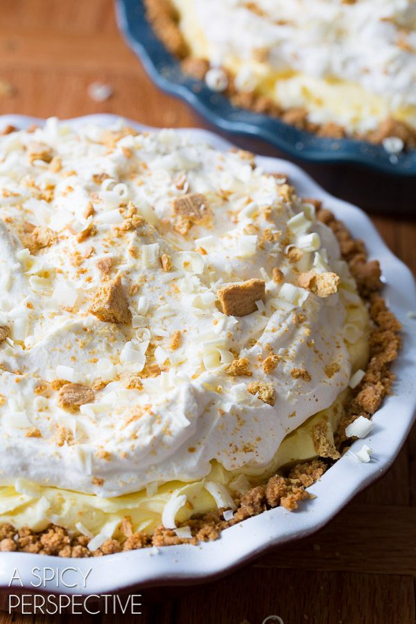 Our fluffy silky Lemon Cream Pie Recipe is hard to resist! If you love lemon, but not meringue, try this lemon pie recipe. Prefect for picnics and parties