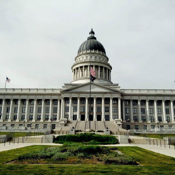 Utah state capitol.
