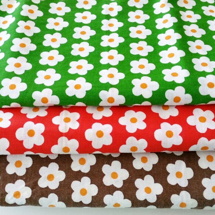 Retro flowers marimekko - like
