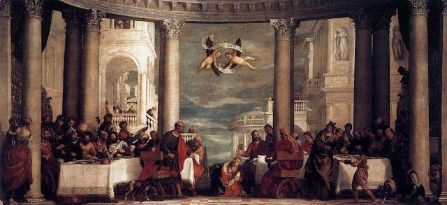 Γιορτή στο σπίτι του Σίμωνα (1570-72)