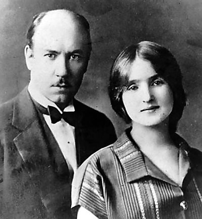 В США Сикорский женился на русской эмигрантке Елизавете Семеновой