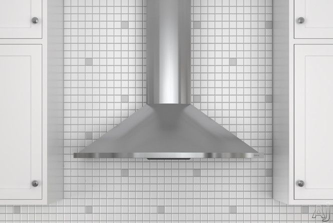"Zephyr ZSAE30CS 30"" Wall Mount Chimney Range Hood with 685 CFM Internal Blower, 6 Sones, Vertical Ducting and Convertible to Recirculating: Stainless Steel"