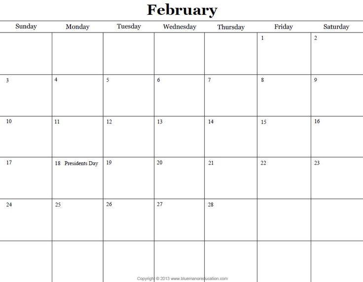 Monthly Calendar You Can Edit : Ideas about blank calendar on pinterest