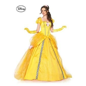 Women's Disney Deluxe Beauty and the Beast's Princess Belle Ball Gown Costume...