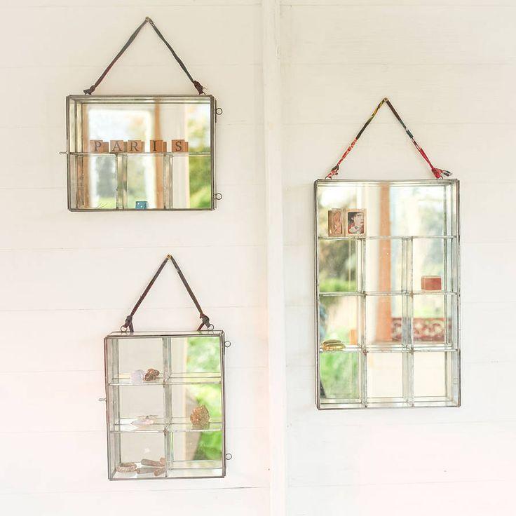Oni Glass Wall Cabinet