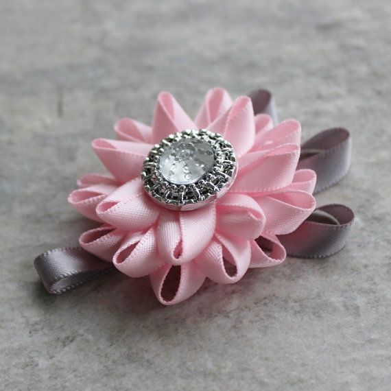 Mens Boutonniere - wedding flowers for men in pink and gray or custom color combinations