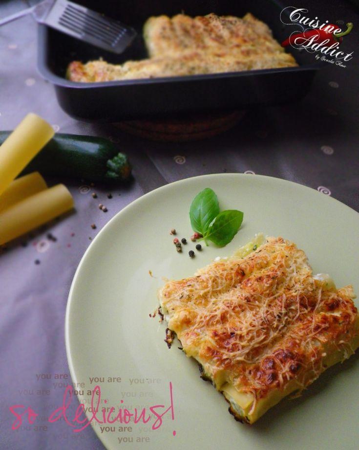 Cannellonis Ricotta & Courgette
