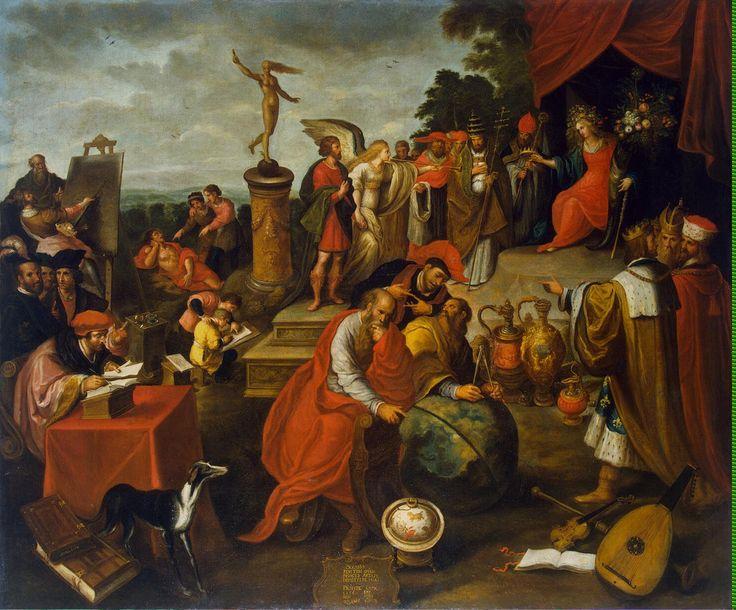 Francken Frans II. Allegory of Chance