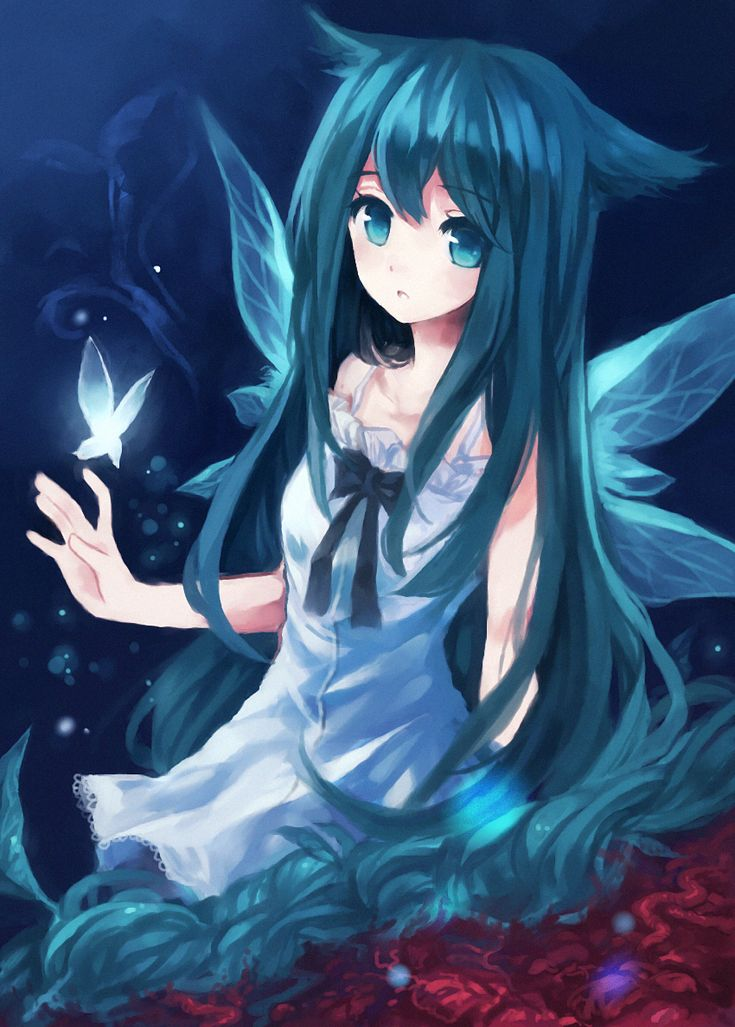 anime girl wings - photo #18