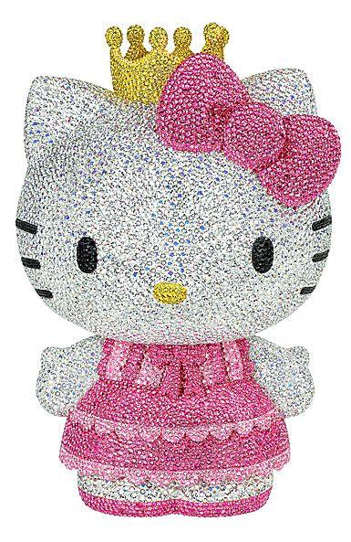a7f7078b93 Swarovski Crystal, Myriad Sanrio Hello Kitty Princess, Limited Edition  Sculpture