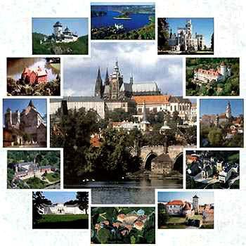 CZECH REPUBLIC - Manors, Castles, Historical Towns