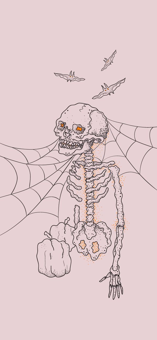Free Halloween Skeleton Iphone Wallpaper This Design Is Available For Iphone 5 Mov Artsy Wallpaper Iphone Halloween Wallpaper Iphone Cute Fall Wallpaper