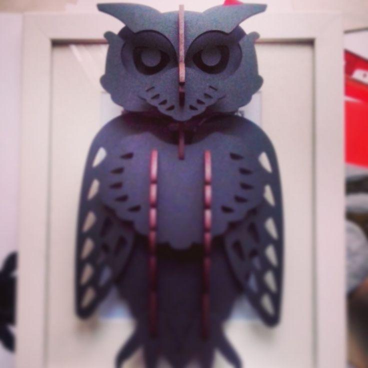 Put together owl