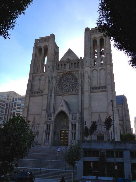 Grace Cathedral #sanfrancisco: Cathedrals Sanfrancisco