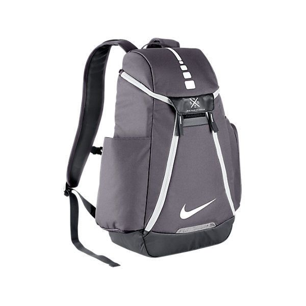 Nike Hoops Elite Max Air Team 2.0 Backpack ($85) ❤ liked on Polyvore featuring grey and nike