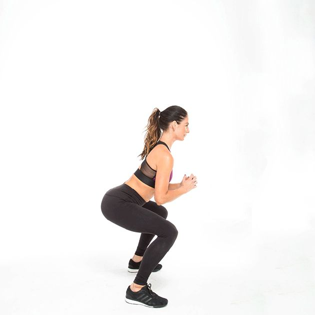 Full body workout to boost your metabolism in only 10 minutes. Katrina Scott dem…