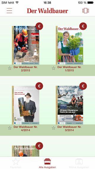 Der Waldbauer von Österreichischer Agrarverlag, Druck- und Verlagsges. m.b.H. Nfg. KG