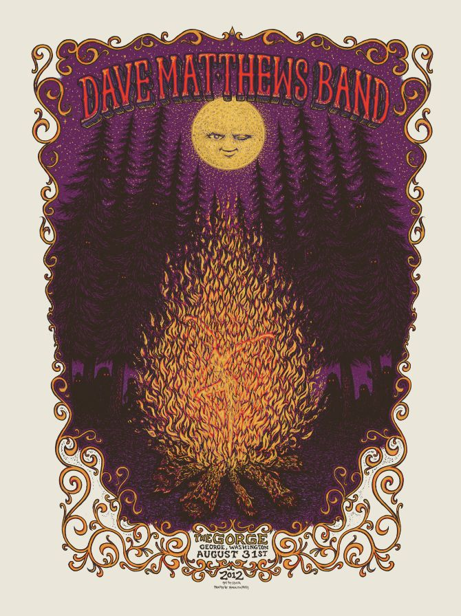 dave+matthews+band+the+gorge+poster+marq+spusta+++2