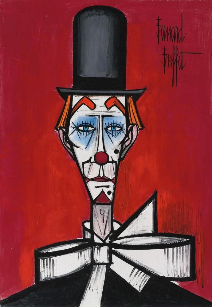 BERNARD BUFFET   Clown